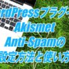 Akismet Anti-Spamの設定方法と使い方-スパムコメントを除去してくれるWordPressプラグイン