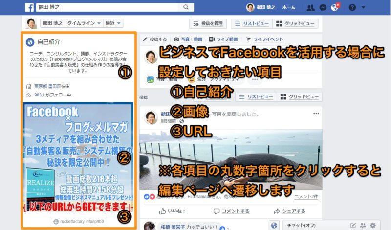 Facebookでキラリと光るプロフィール設定の秘訣